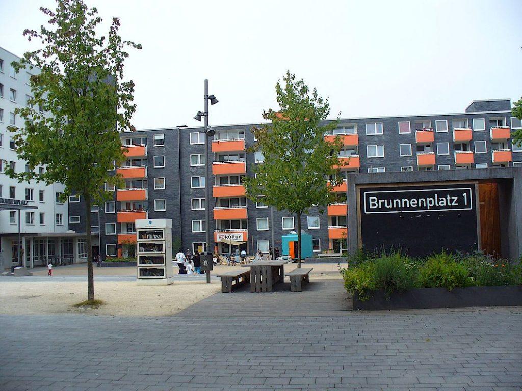 Brunnenplatz Brunnenprojekt Hustadt